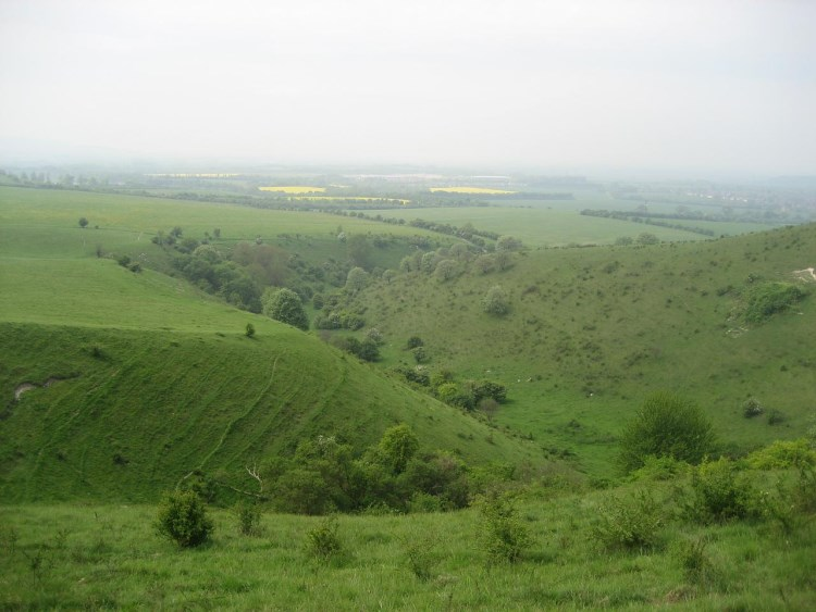 The Ridgeway:  From the Ridgeway - © Copyright Flickr user abridgeover