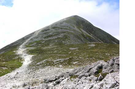 Croagh Patrick: Croagh Patrick -  - © Flickr user keertmoed