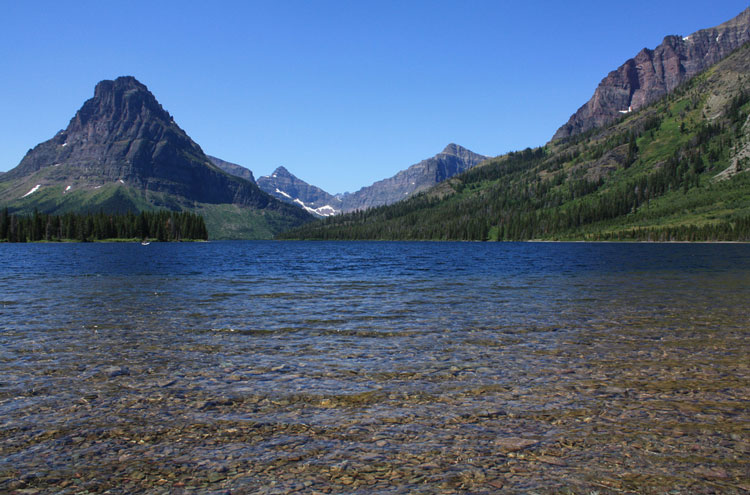 Two Medicine Lake, Glacier National Park - © From Flickr user AndrewKalat