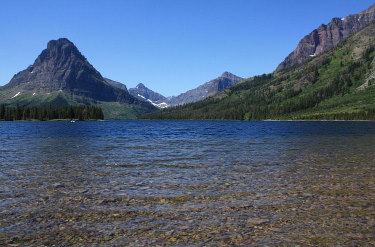 USA Western: Glacier NP, Glacier National Park, Two Medicine Lake, Glacier National Park - © From Flickr user AndrewKalat, Walkopedia