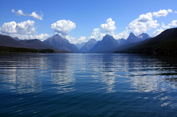 Lake McDonald, Glacier National Park - © From Flickr user AndrewKalat