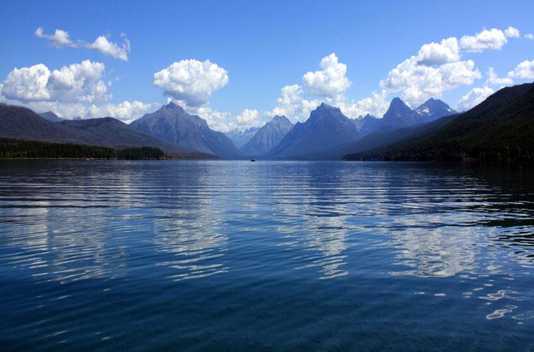 USA Western: Glacier NP, Glacier National Park, Lake McDonald, Glacier National Park - © From Flickr user AndrewKalat, Walkopedia