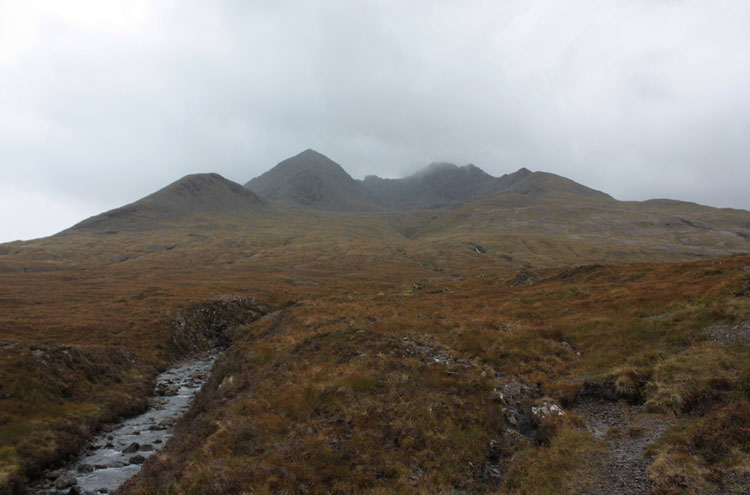 Black Cuillin Ridge, Skye: The Black Cuillins - © By Flickr user NickBramhall