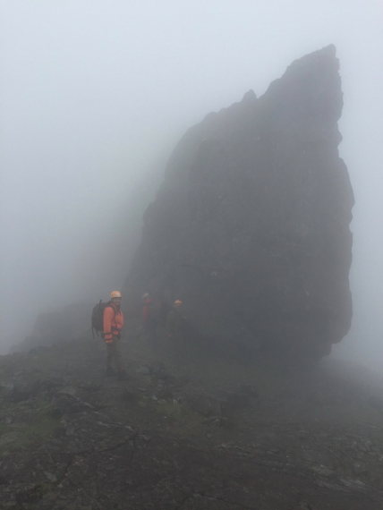 Black Cuillin Ridge, Skye: Day 2, the other weather - © Hamish Macleod