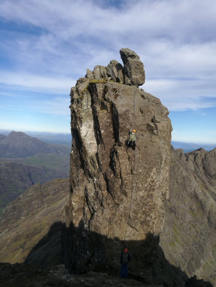 Black Cuillin Ridge, Skye: The inaccessible Pinnacle - © Hamish Macleod