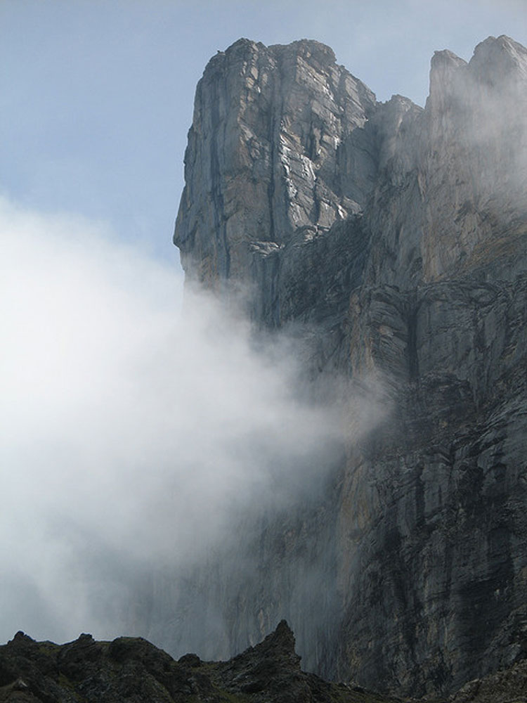 Eiger North Face - © By Flickr user PeterSchaer
