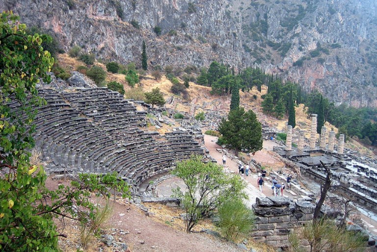 delphi theatre, mt parnassus  - © flickr user wallyg