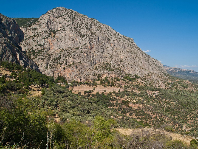 slopes of mt parnassus  - © flickr user cb_agulto