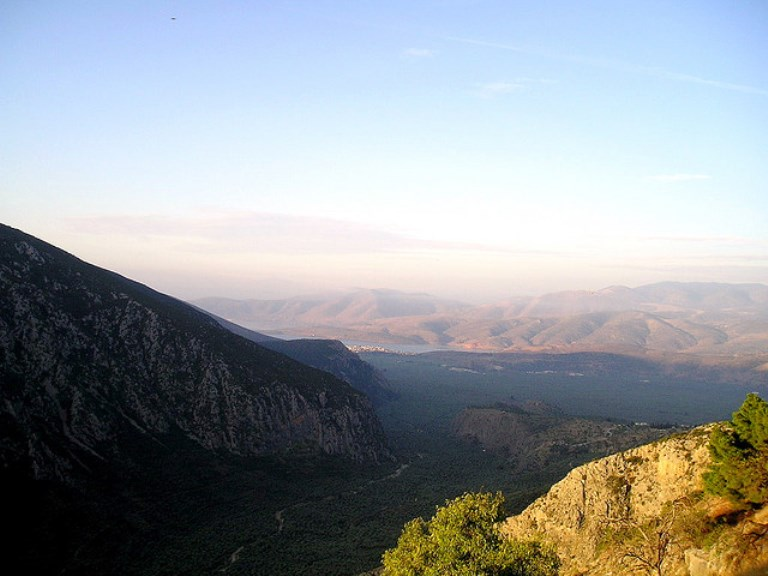 view from mt parnassus  - © flickr user NickStenning
