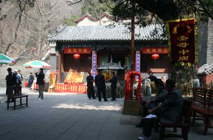 China Eastern Shandong, Tai Shan, Temple, Walkopedia