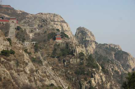 China Eastern Shandong, Tai Shan, The peak area, Walkopedia