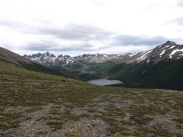 Chile Tierra del Fuego, Dientes Circuit, Dientes Circuit - Laguna Robalo, Walkopedia