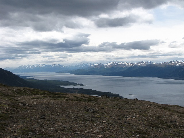 Dientes Circuit: Dientes Circuit - View of the Beagle Channel - © Copyright Flickr user dreamX