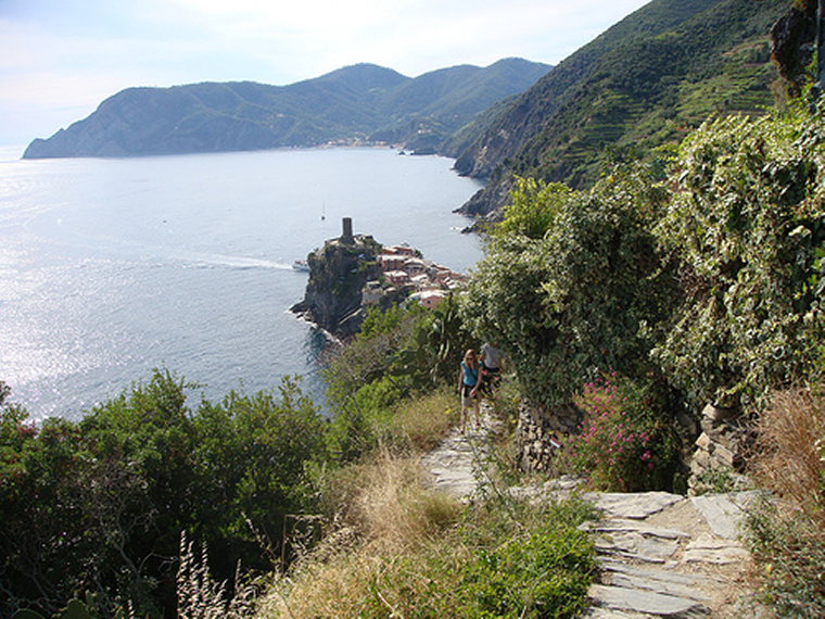 Cinque Terre - Azzuro Trail - © By Flickr User philip arson