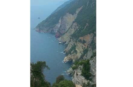 Cinque Terre - Sentiro Rosso - © By Flickr User chuntera