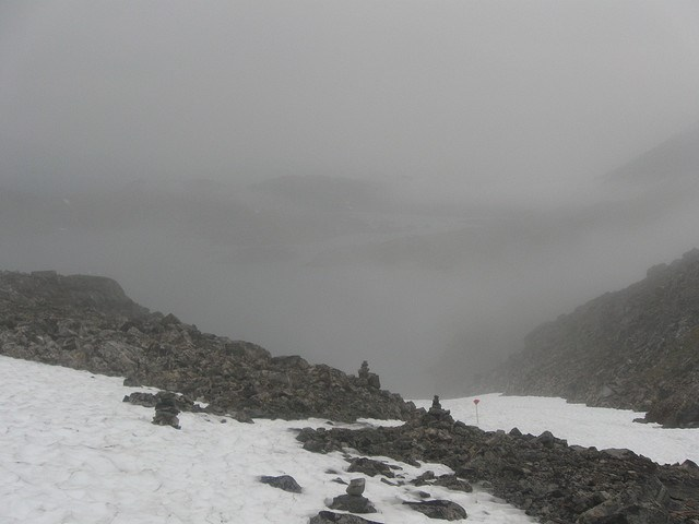Chilkoot Trail - typically misty conditions - © Copyright Flickr user iwona_kellie