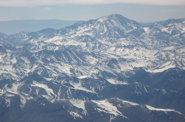 Over Aconcagua - © By Flickr user ActiveSteve