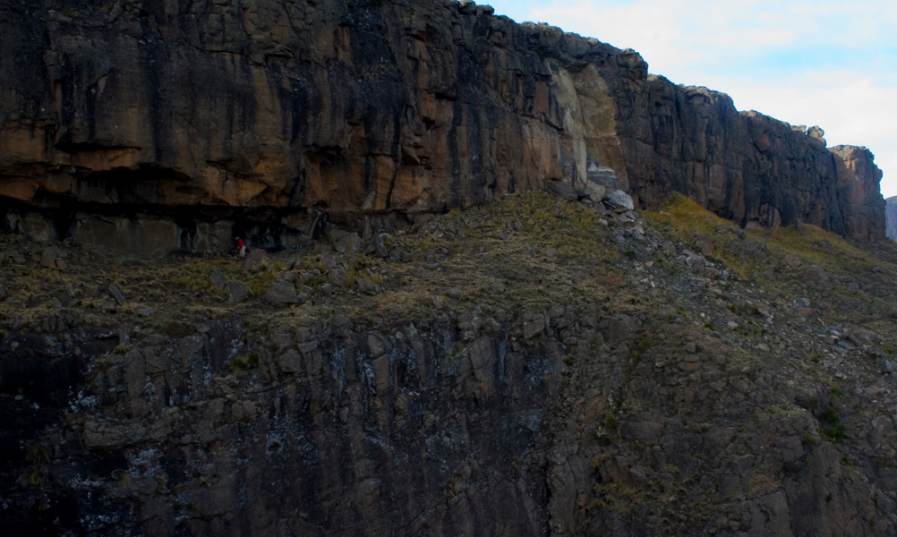 North Drakensberg Traverse: Ledges Cave  - © JakeK