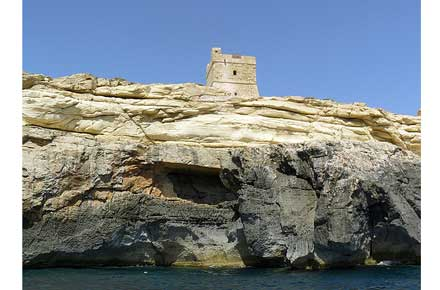 Malta, Zurrieq-Siggewi, Zurrieq-Siggewi - Hamrija Tower, Walkopedia