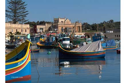 Marsascala to Marsaxlokk - Marsaxlokk - © Flickr user foxypar4