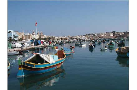 Marsascala to Marsaxlokk - Marsaxlokk - © Flickr user guillaumepaumier