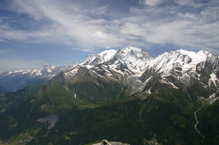 Mont Blanc Area - From Mont Joly - © William Mackesy