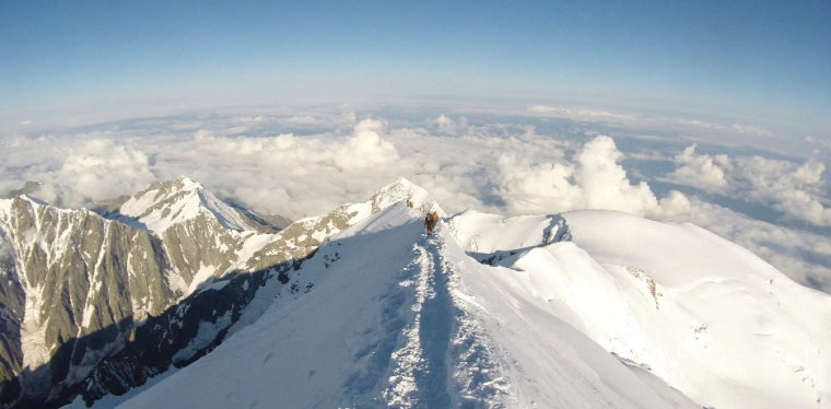 France Alps Mt Blanc Area, Mont Blanc Area, Mont Blanc, Walkopedia