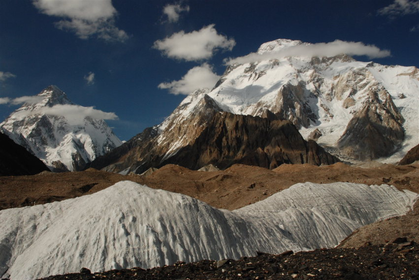 Concordia Trek: Concordia Camp and K2, Broad Peak - © flickr user Stefanos Nikologianis