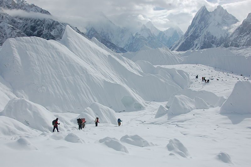 Concordia Trek: Baltoro - Mitre Peak - © wiki user Maria Ly