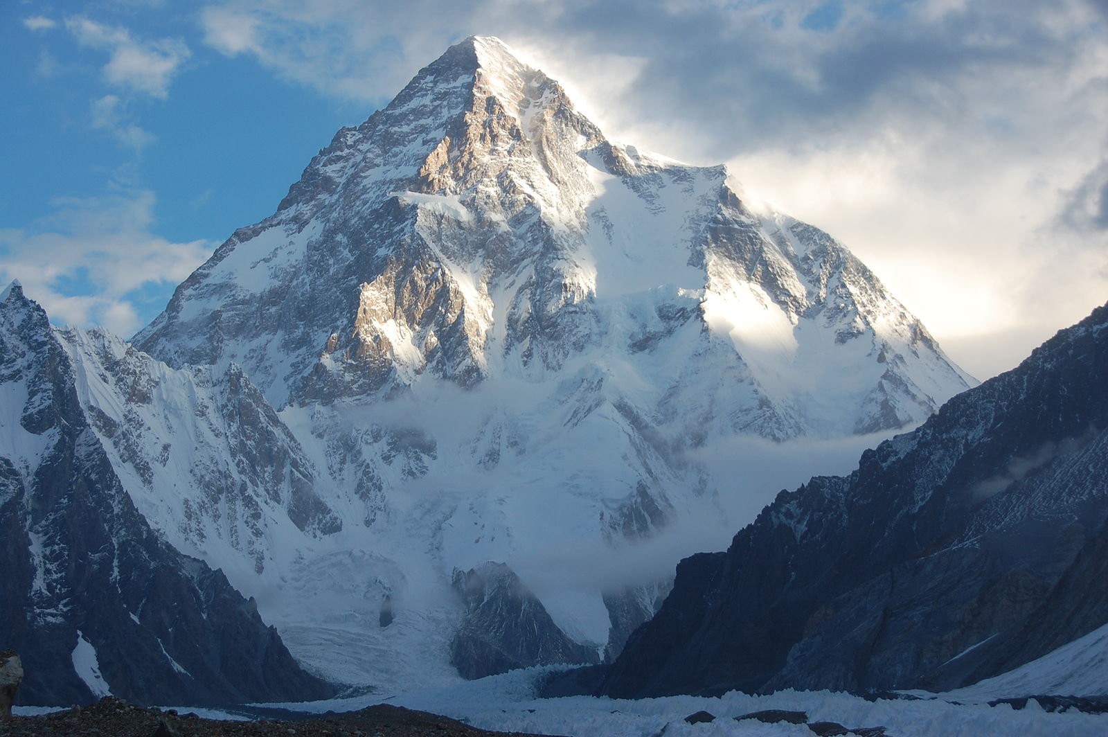 Concordia Trek: K2,_Mount_Godwin_Austen,_Chogori,_Savage_Mountain - © Flickr user Maria Ly