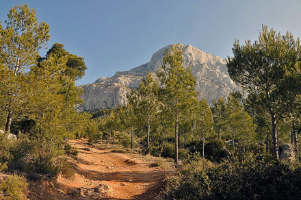 Montagne Sainte Victoire Approach - © From Flickr, by Anjci
