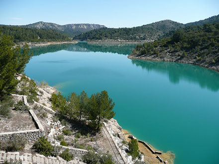 Montagne Sainte Victoire Bimont Dam - © From Flickr, by Maarjaara