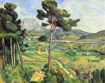 Montagne Saint Victoire Typical Cezanne Picture - © From Wikipedia Commons