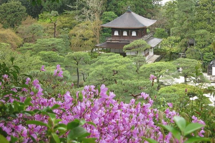 Daimonji-yama and Philosopher's Path, Kyoto: Ginkaku-ji Temple