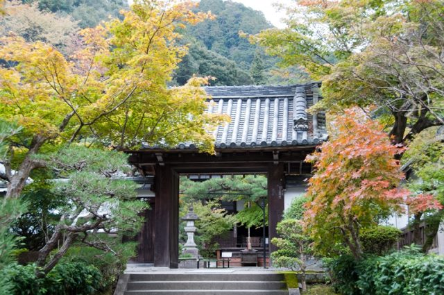 Gate inside Nanzen-ji temple - © Flickr users- Paul Asman and Jill Lenoble