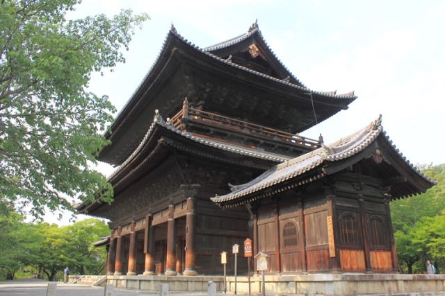 Main gate of the Nanzen-ji temple - © Flickr user- t-mizo