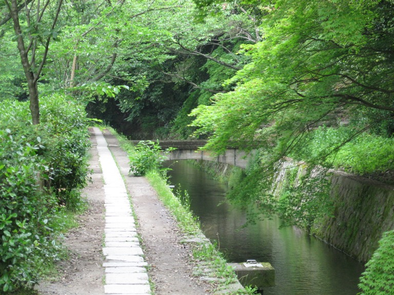 "Daimonji-yama and Philosopher's Path, Kyoto: The honest-to-goodness Philosopher""s Walk  - © Jeremy _ _ flickr user"
