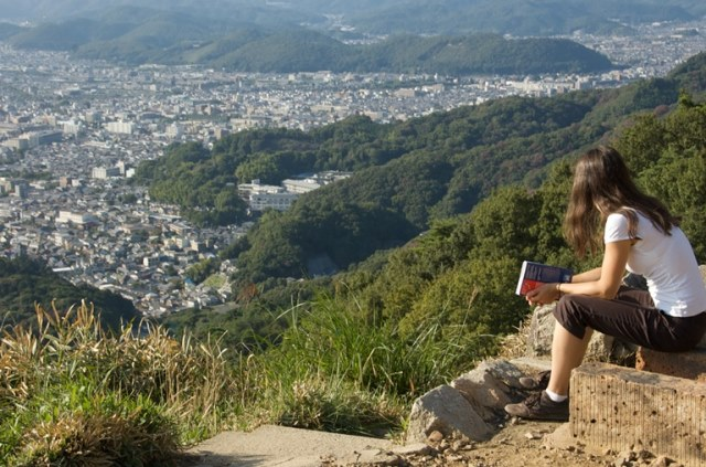 Daimonji-yama and Philosopher's Path, Kyoto: View of Kyoto from Daimonji-yama - © Flickr user- Andrew Eland