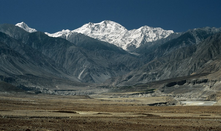 Nanga Parbat - View across Indus and desert plains - ©  zerega flickr user