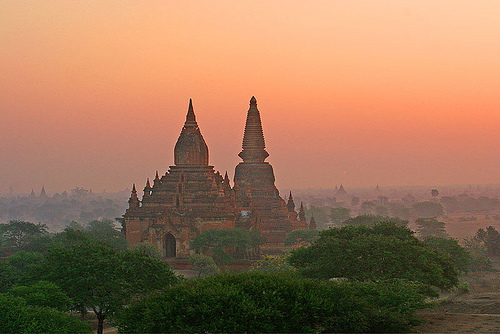Bagan -  - © Copyright Flickr user jmhullot