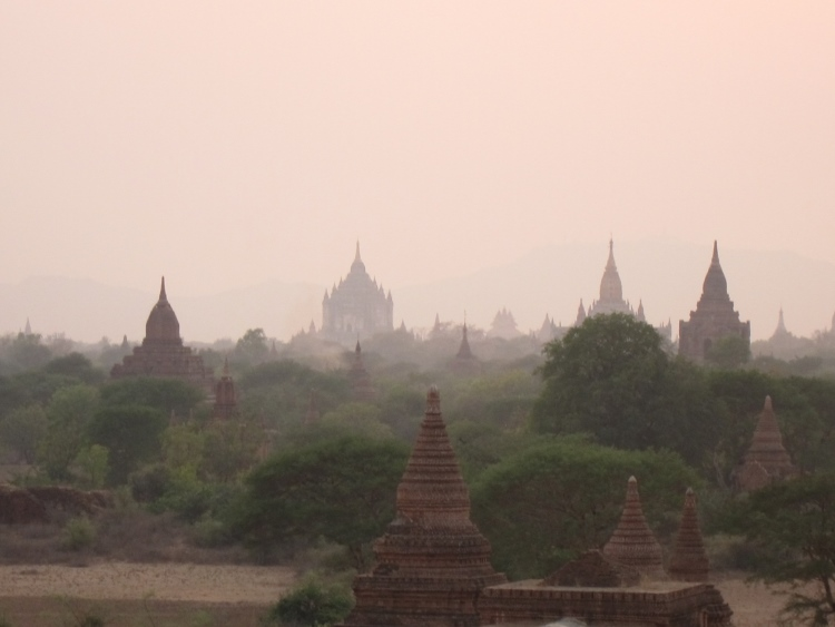 Bagan - Evening light - © Copyright William Mackesy
