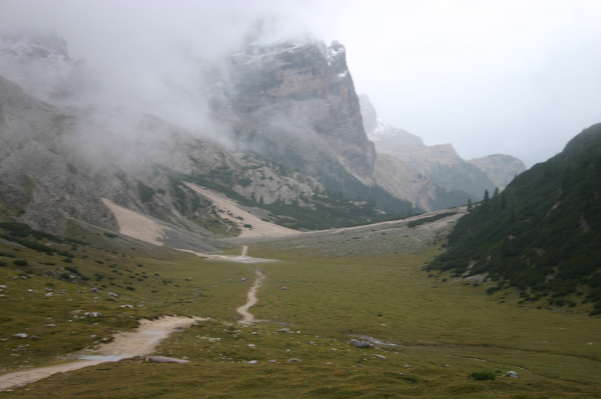 The Dolomites: An hour after Fanes - © William Mackesy