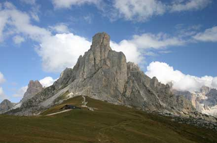 The Dolomites - Ra Gusela - © William Mackesy
