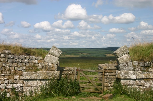 Through milecastle gate - © William Mackesy