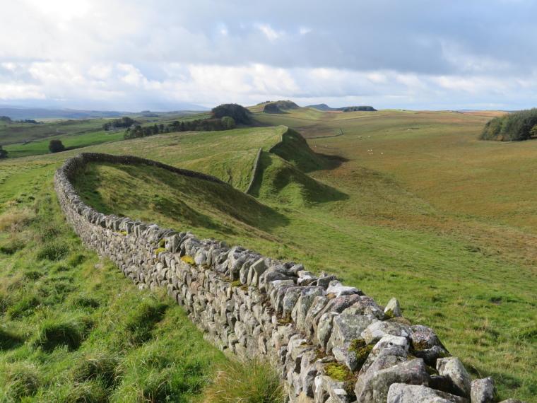 United Kingdom England Hadrian's Wall, Hadrian's Wall Path, , Walkopedia