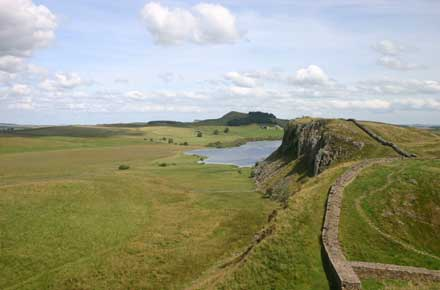 Hadrian's Wall Path - A Classic View, Highshield's Crag