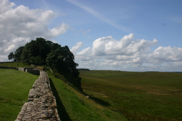 The Wall at Housteads - © William Mackesy