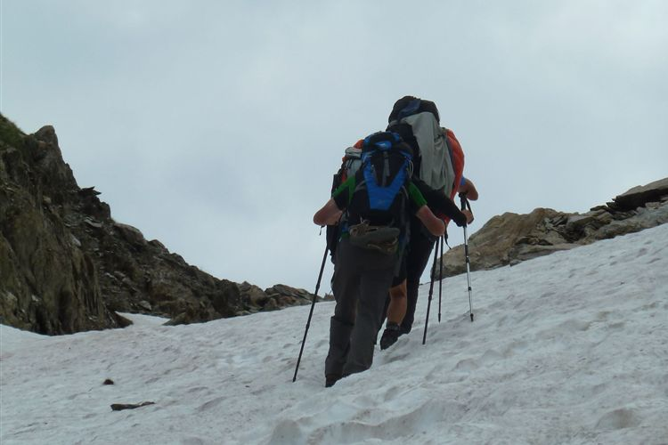 On route to the Col de la Fache  (2664m) - 13082013 - © Dick Everard