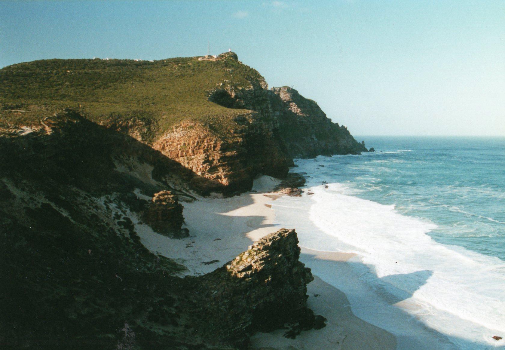 South Africa Western Cape Cape Area, Cape of Good Hope, Back toward Cape Point, Walkopedia