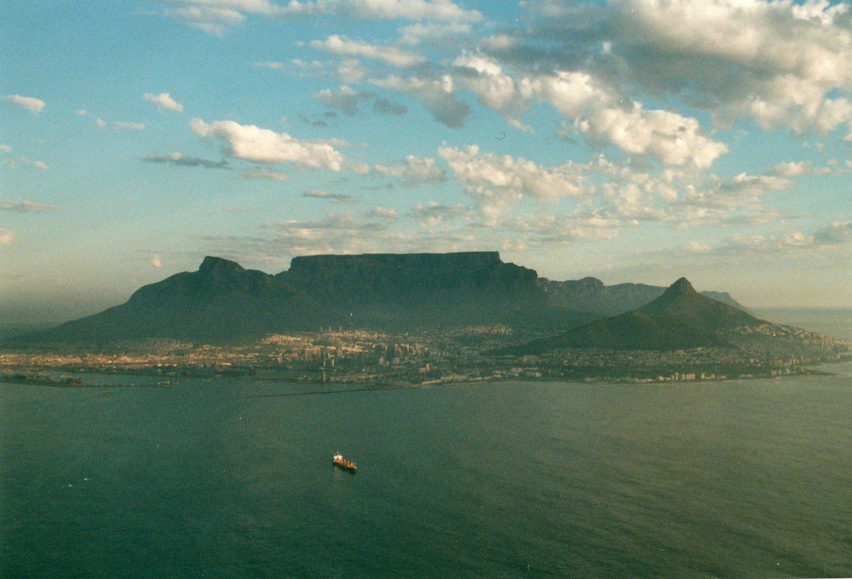 South Africa Western Cape Cape Area, Cape of Good Hope, Table Mountain, top end of Cape peninsula, Walkopedia